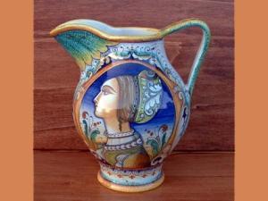 Maiolica Toscana - Boccale vasella antica