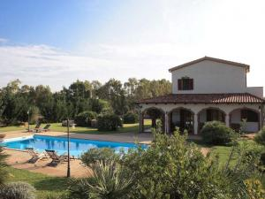 Villa Podere Monte Sixari piscina