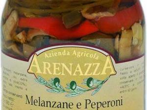 Melanzane e peperoni