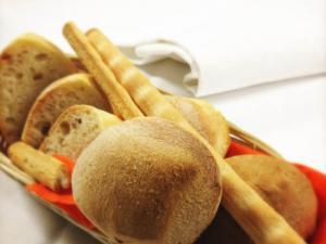Il pane fresco di produzione propria