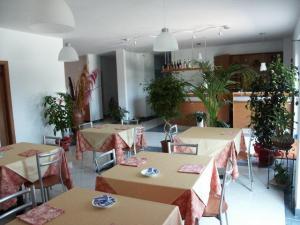 Sala colazioni e reception