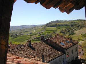 Vista dai tetti el castello