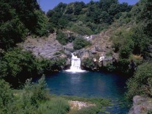 Le Gurne lagetti circolari del fiume Alcantara