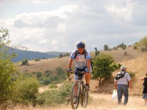 Mountain bike sui Nebrodi