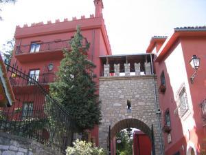 Vista retro castello
