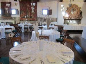 Dettaglio tavolo per cerimonie