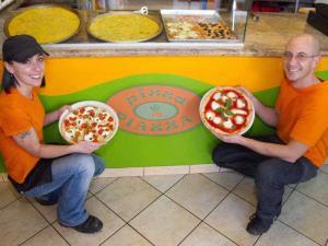 Presentazione della pizza