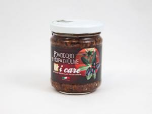 Pomodoro e polpa di olive