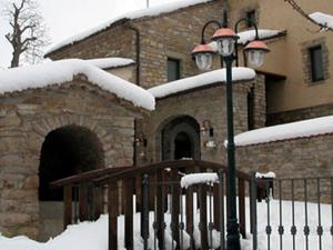 Esterno con neve