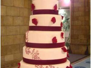 Torta nuziale Red Velvet