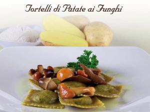 Tortelli di patate e funghi