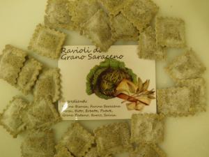 Ravioli al grano saraceno