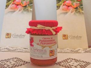 Crema di pomodorini al peperoncino