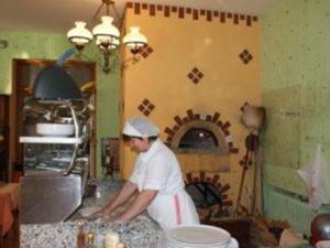 Preparazione pizze
