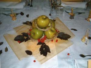 Composizione frutta tavolo