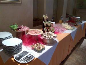 Buffet battesimo