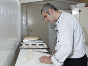 Chef a lavoro
