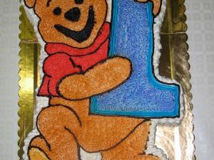 Torta Winni the Pooh