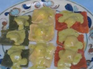 Tortelli tricolore