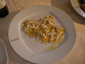 Farinoi - ravioli tipici del pinetaio