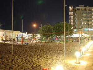 Beach volley notturno